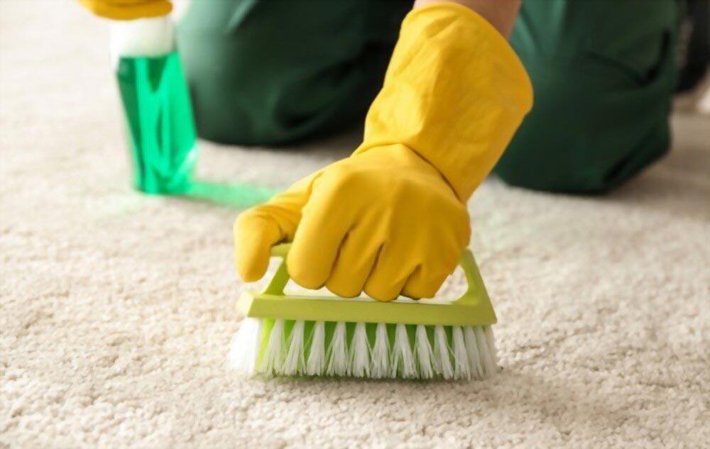 پاک کردن لکه شیر با شامپو فرش